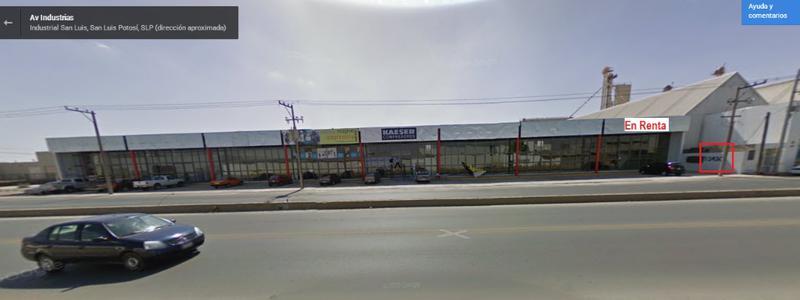 Foto Local en Renta en  Industrias,  San Luis Potosí  LOCALES COMERCIALES EN RENTA EN AV. INDUSTRIAS, SAN LUIS POTOSI