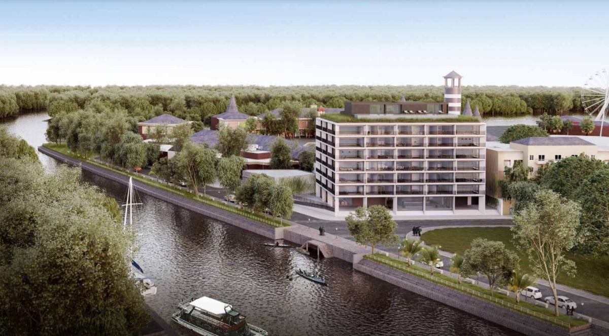 venta departamento 3 ambientes pozo en PESOS  Tigre vista al rio