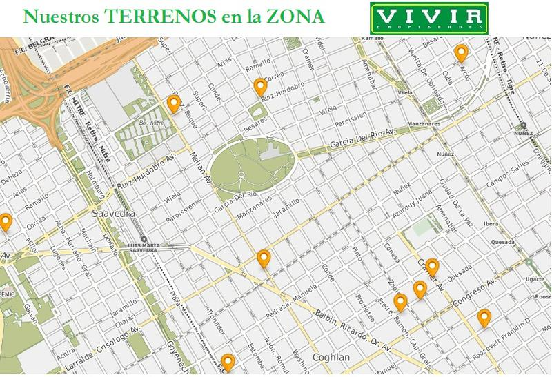 Foto Terreno en Venta en  Nuñez ,  Capital Federal  Congreso al 2800