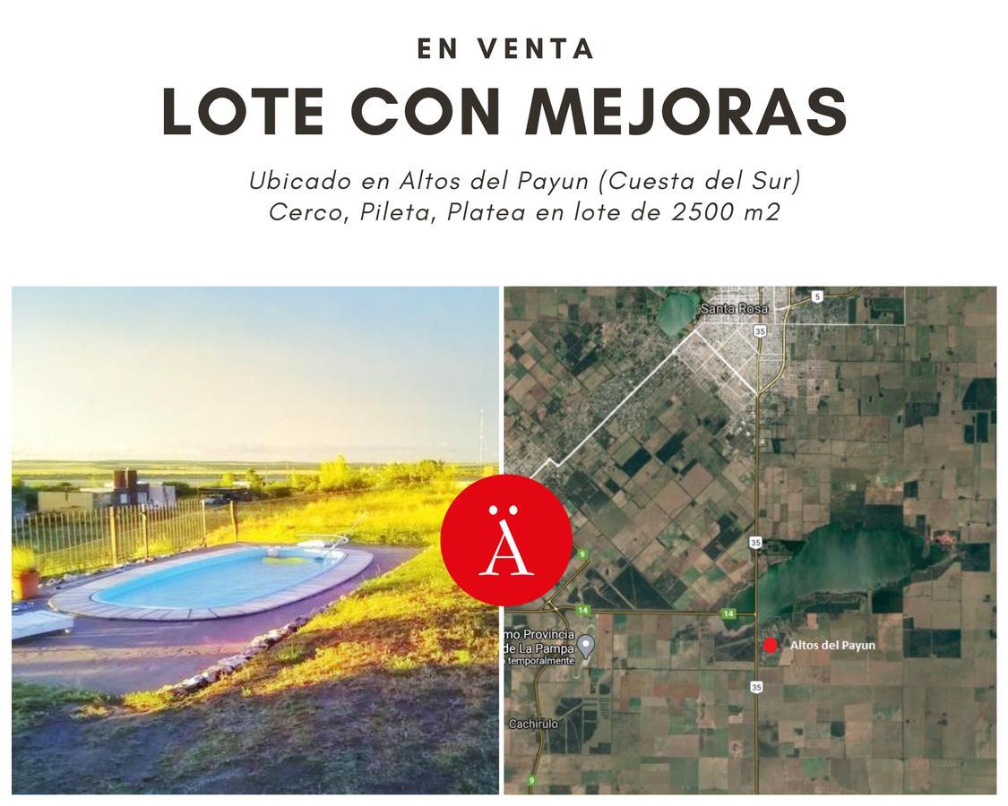 Foto Terreno en Venta en  Santa Rosa,  Capital  Overo y Cebruno - Altos del Payun (Cuesta del Sur)