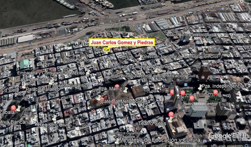 Foto Departamento en Alquiler temporario | Alquiler en  Ciudad Vieja ,  Montevideo  Espectacular apartamento en El Bajo de Ciudad Vieja