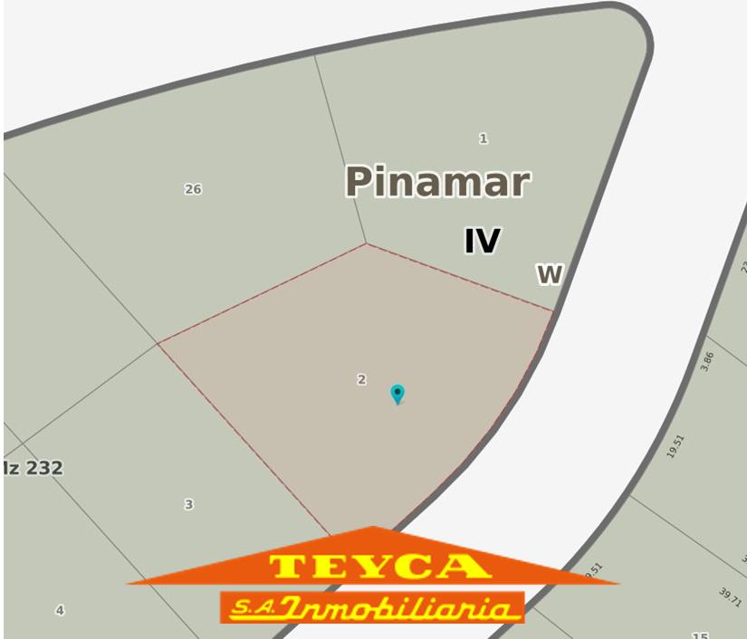 Foto Terreno en Venta en  Alamos,  Pinamar  ESLORA E/ AV. TRES CARABELAS Y AV ALAMOS