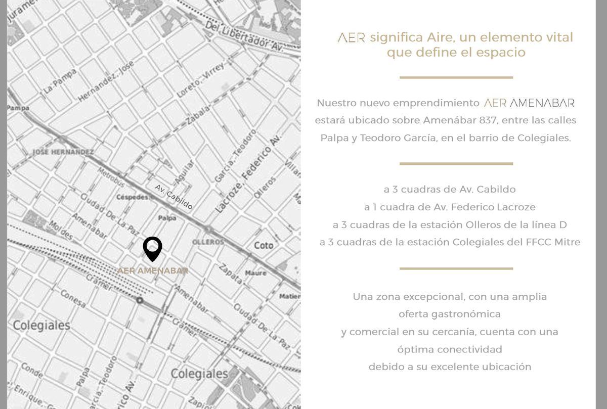 Foto Departamento en Venta en  Belgrano ,  Capital Federal  Amenabar 837