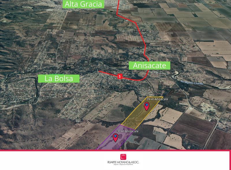Foto Campo en Venta en  Villa Anisacate,  Santa Maria  39 Hectáreas - Campo en Anisacate -  Ideal Loteo y Producción
