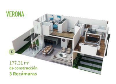 Foto Casa en condominio en Venta en  Ejido Las Jarretaderas,  Bahía de Banderas  Casa en venta por Nuevo Vallarta - Vilanova Verona