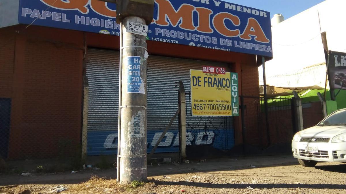 Foto Galpón en Alquiler en  Los Polvorines,  Malvinas Argentinas  Avenida Arturo Illia 5032