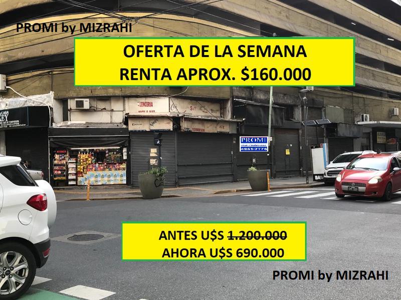 Foto Local en Venta |  en  Once ,  Capital Federal  CASTELLI al 200