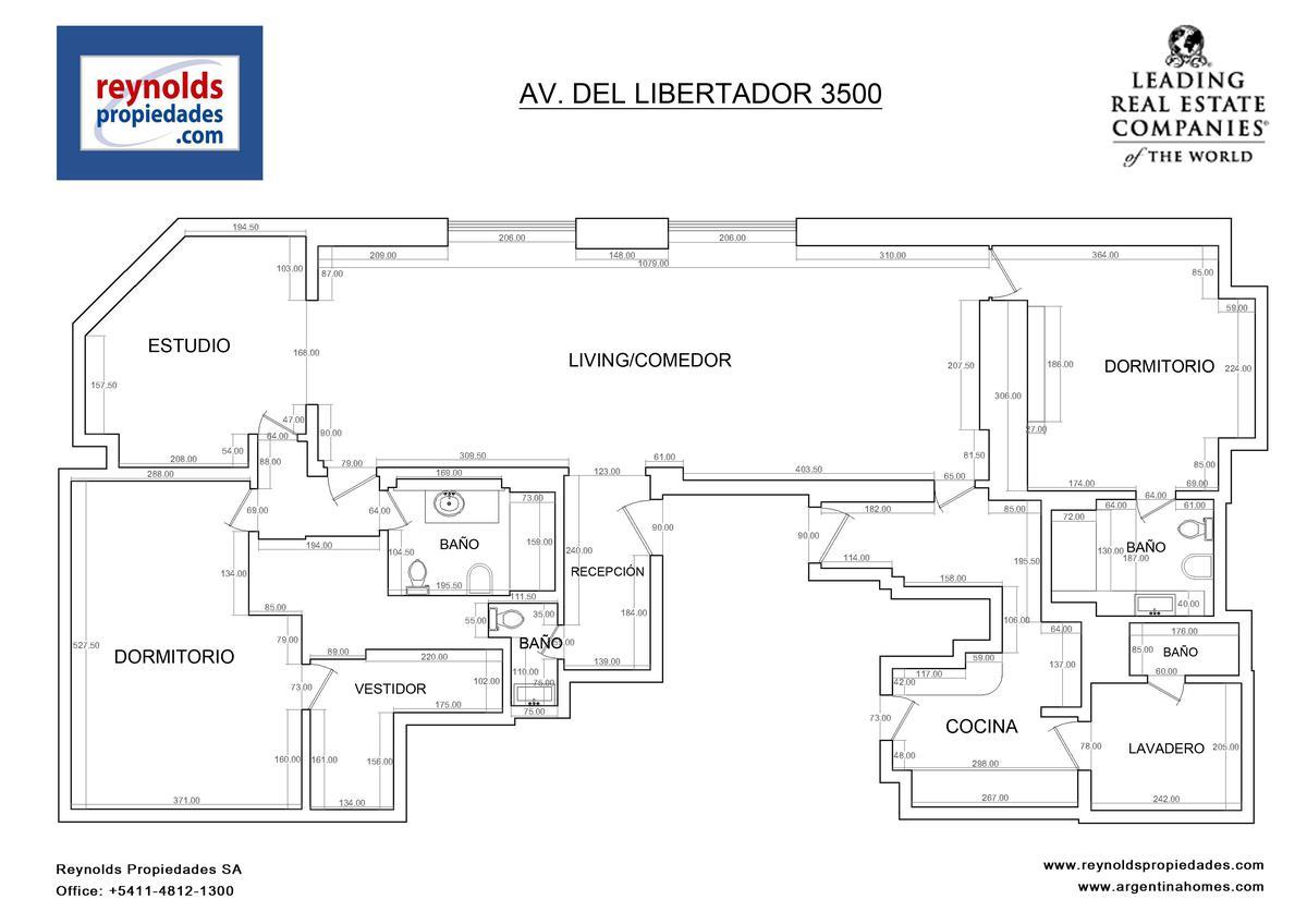 Foto Departamento en Alquiler en  Palermo ,  Capital Federal  Libertador al 3500