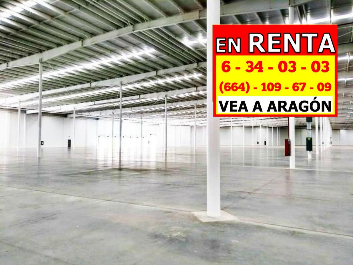 Foto Nave Industrial en Renta en  Genaro Vázquez,  Tijuana  RENTAMOS ENORME NAVE  NUEVA 10,775 Mts² o 116,000 Pies²  PipAtiDiam