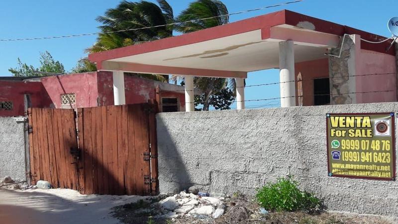 Foto Casa en Venta en  Pueblo Santa Clara,  Dzidzantún  CASA FRENTE AL MAR EN SANTA CLARA
