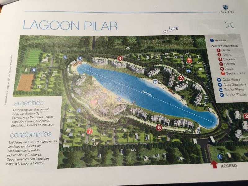 Foto Terreno en Venta en  Lagoon Pilar ,  Countries/B.Cerrado (Pilar)  R Caamaño al 1100