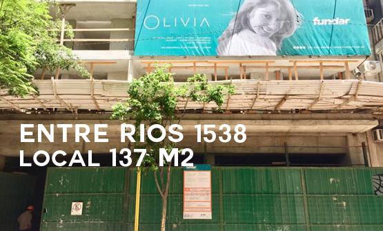 Entre Rios 1538. Edificio Olivia