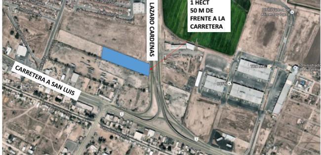 Foto Terreno en Venta en  Lázaro Cárdenas,  Mexicali  Lázaro Cárdenas