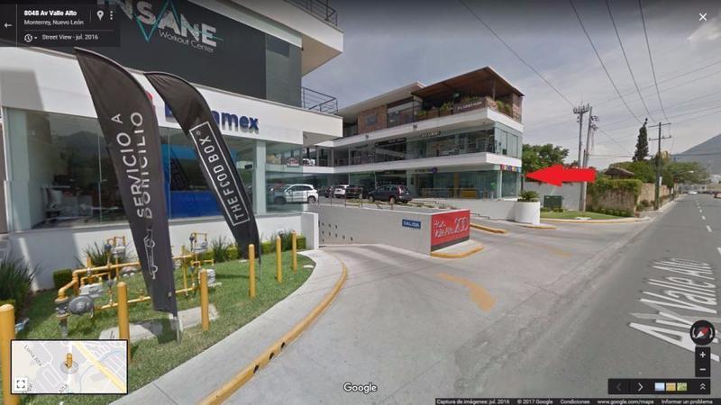 Foto Local en Renta en  Lomas de Valle Alto,  Monterrey  RENTA DE LOCAL UBICADO EN PLAZA VALLE ALTO 200 (VSC)