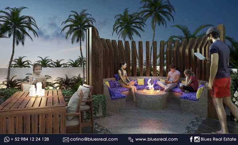 Picture Apartment in Sale in  Solidaridad ,  Quintana Roo  New condos in Playa del Carmen at Cosmo 42 | Blues Real | Code 633