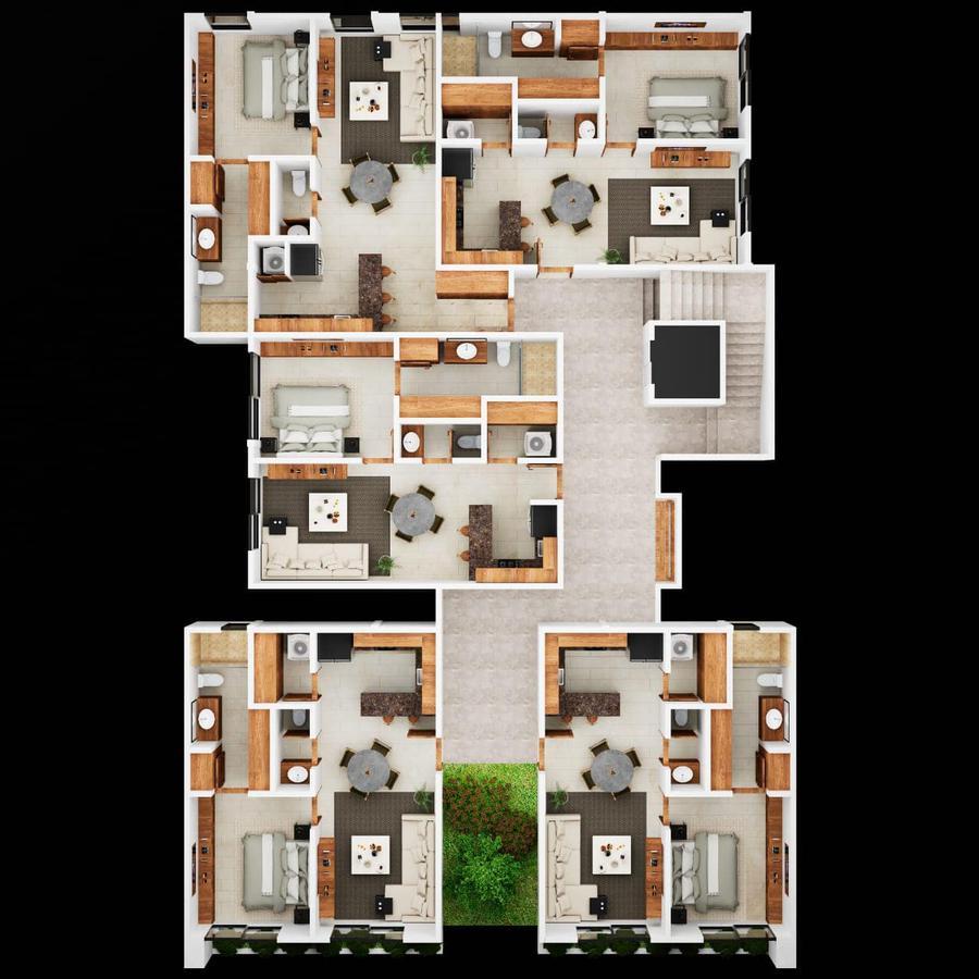 Foto Departamento en Venta en  Santa Gertrudis Copo,  Mérida  Departamento Elemental Home (CON ELEVADOR).