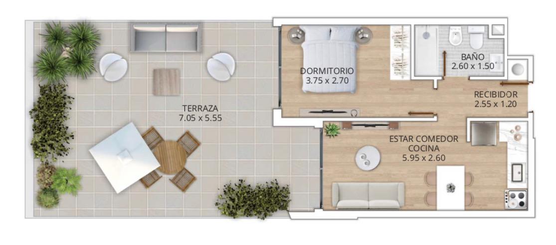 Foto Apartamento en Venta en  Tres Cruces ,  Montevideo  8 De Octubre al 2200