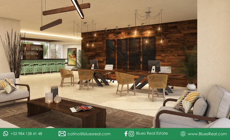 Picture Apartment in Sale in  Tulum ,  Quintana Roo  For sale new apartments with at Anah Village   Blues Real   Code 405