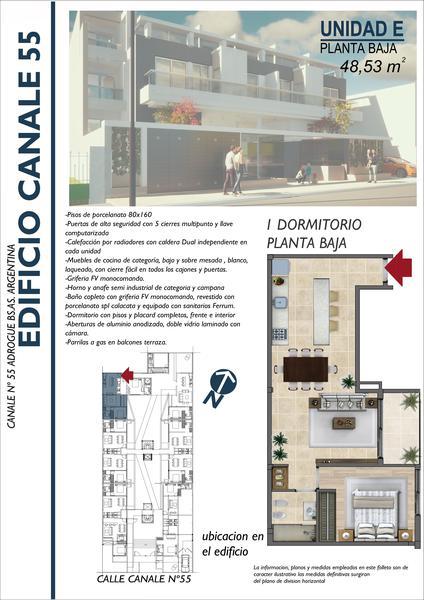 Foto Departamento en Venta en  Adrogue,  Almirante Brown  Int. Gonzalez 55 (Ex. Canale)