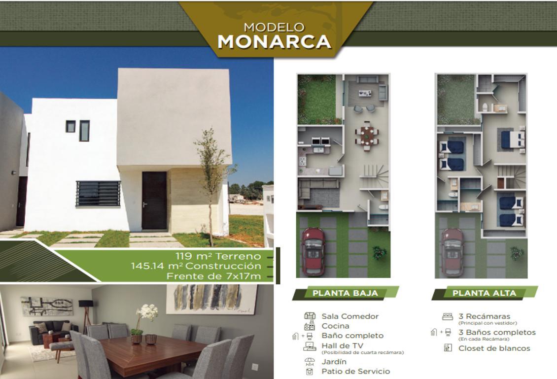 Foto Casa en Venta en  Villa de Pozos,  San Luis Potosí  Casa Monarca, L6