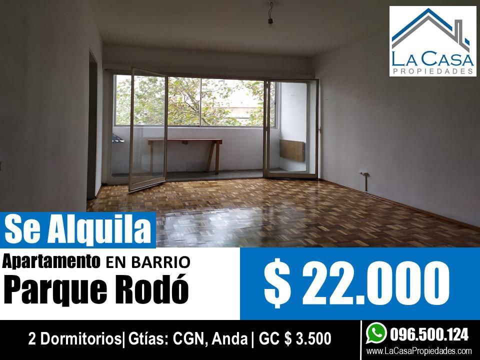 Foto Apartamento en Alquiler en  Parque Rodó ,  Montevideo  Bvar España al 2100