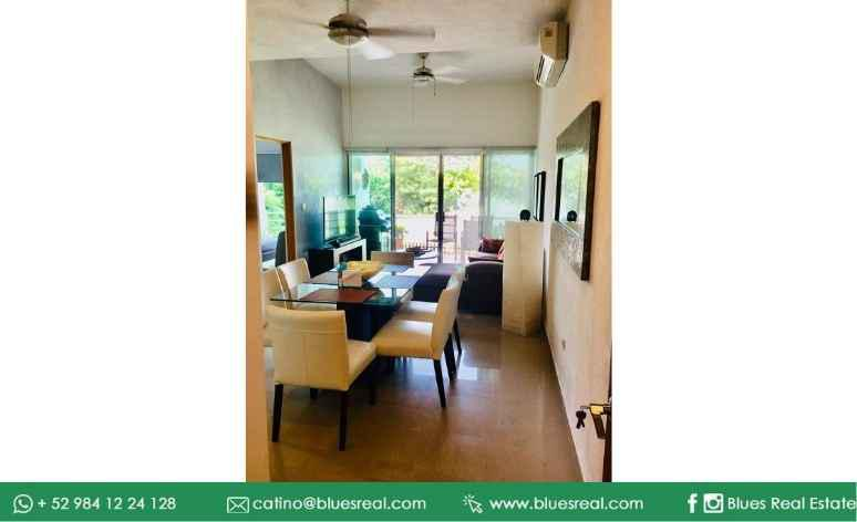 Picture Apartment in Sale in  Solidaridad ,  Quintana Roo  Furnished apartment for sale in exclusive Playacar, Playa del carmen | Code 966