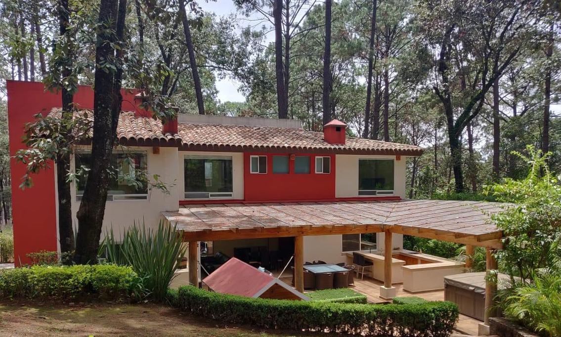 Foto Casa en condominio en Venta en  Avándaro,  Valle de Bravo  Venta de casa en Condominio Boscoso Avándaro
