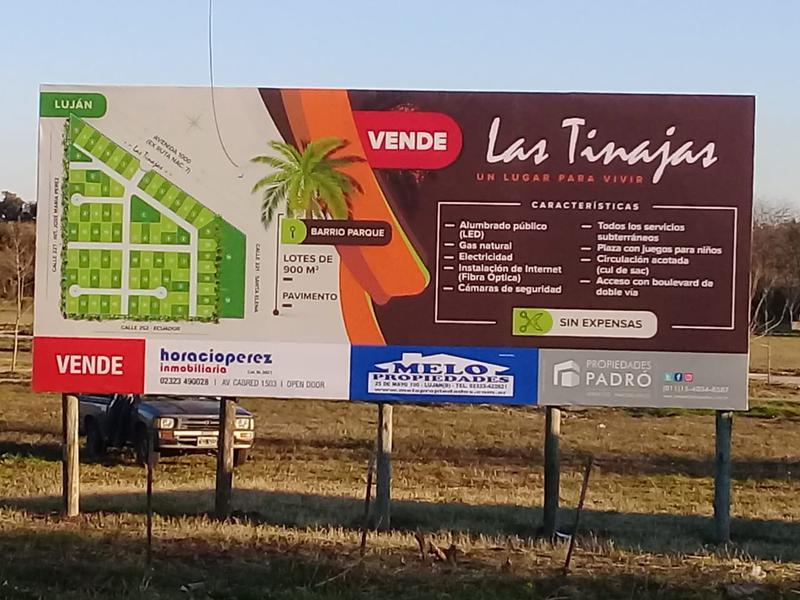 Foto Terreno en Venta en  Lujan ,  G.B.A. Zona Oeste  Las  Tinajas -Ruta 7 y José María Perez - LOTE 5