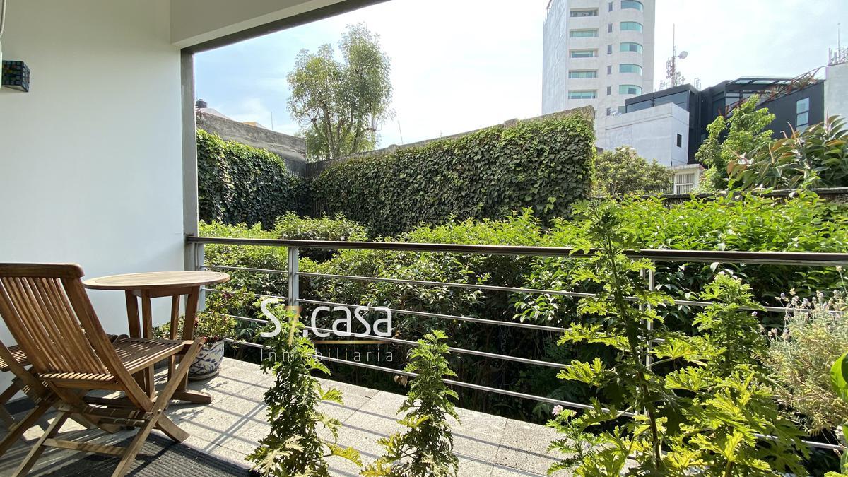 Foto Departamento en Venta en  Jardines del Pedregal,  Alvaro Obregón  Departamento en venta, Jardines del Pedregal, amplios balcones.