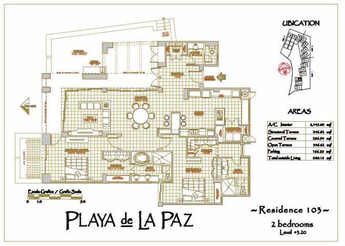Foto Departamento en Venta en  Pedregal del Cortes,  La Paz  Pedregal del Cortes
