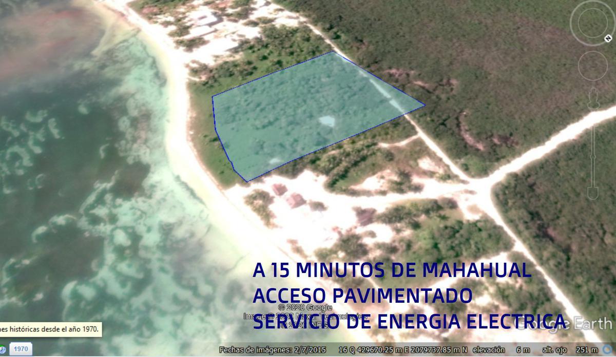 Foto Terreno en Venta en  Mahahual,  Othón P. Blanco  15 Km de  MAHAHUAL