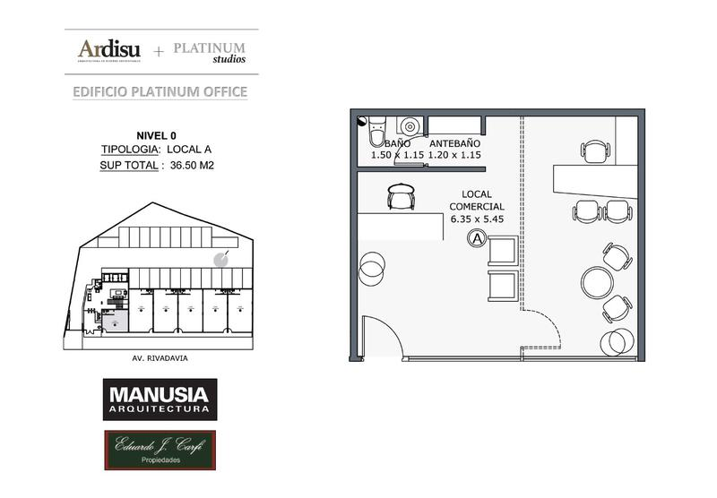 Foto Local en Venta en  Castelar Norte,  Castelar  Platinum Office - Rivadavia 19.861 (0A)