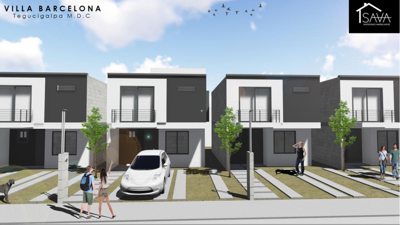 Foto Casa en condominio en Venta en  San José de La Vega,  Distrito Central  Casa en pre-venta 3hab/2.5 baños