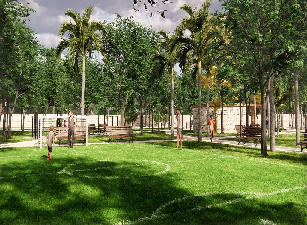 Foto Casa en Venta en  Pueblo Cholul,  Mérida  asa de 1 Planta en Privada Inara (MOD.153).