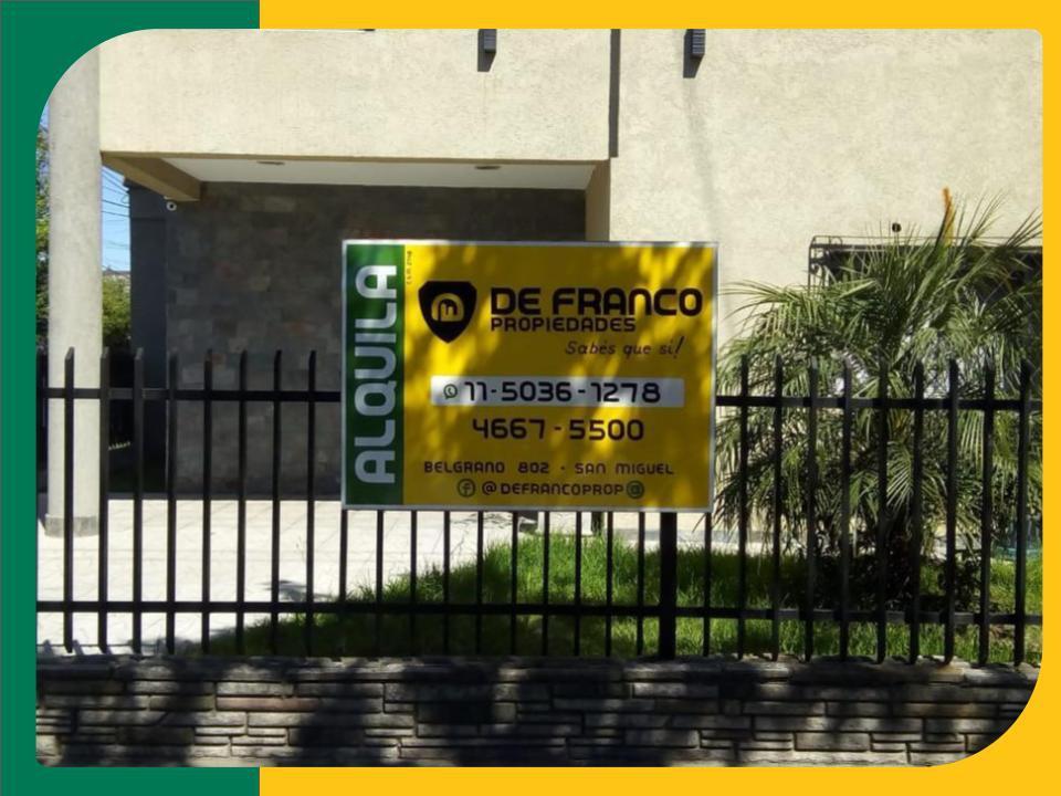 Foto Local en Alquiler en  San Miguel,  San Miguel  Belgrano al 500
