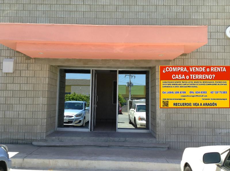 Foto Bodega Industrial en Renta en  Guaycura,  Tijuana  RENTO EXCELENTE BODEGA DE 539 Mts² ó 5,804 Pies². P2-C