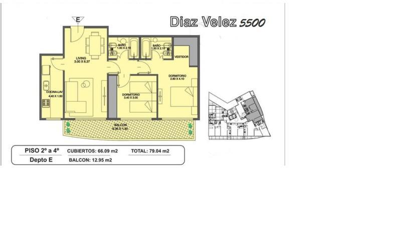 Foto Departamento en Venta en  Caballito ,  Capital Federal  Díaz Vélez al 5500 Departamento en construcción  3 ambE.  PISCINA SOLARIUM GYM KIDS CLUB SUM