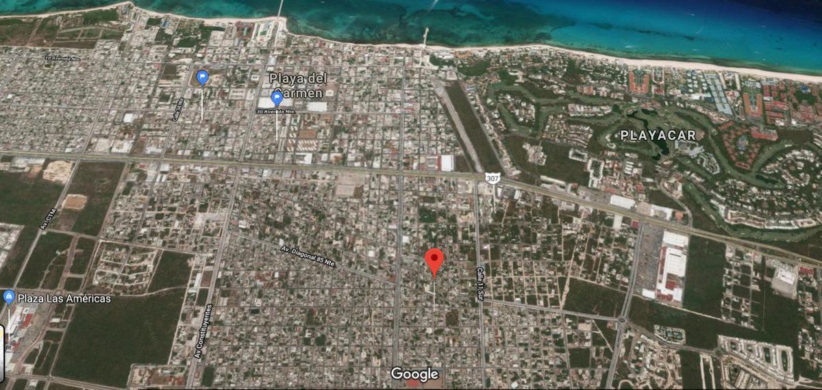 Foto Terreno en Venta en  Playa del Carmen,  Solidaridad  TERRENO DOBLE A UN LADO DEL DEPORTIVO POLIFORUM