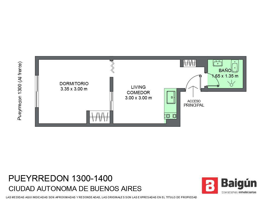 Foto Departamento en Venta en  Barrio Norte ,  Capital Federal  Av. Pueyrredón al 1300