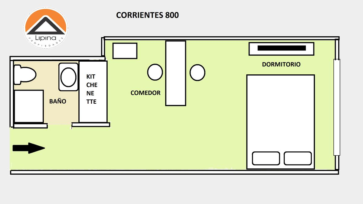 Foto Departamento en Alquiler temporario en  San Nicolas,  Centro (Capital Federal)  Corrientes al 800