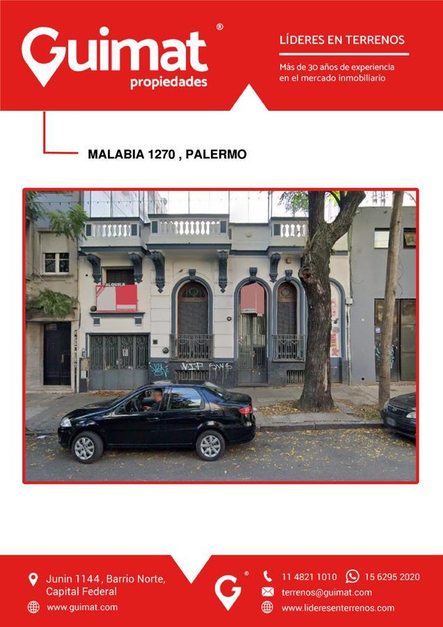 Foto Terreno en Venta en  Palermo ,  Capital Federal  MALABIA al 1200