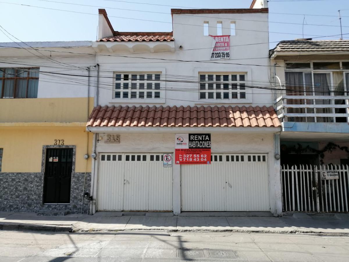 Foto Casa en Renta en  Fraccionamiento Guadalupe,  León  HABITACIONES EN RENTA en Fraccionamiento Guadalupe, cerca de la Clínica 21 del IMSS.