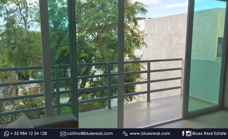 Picture Apartment in Rent in  Solidaridad ,  Quintana Roo  For rent apartment in the centre of Playa del Carmen, Quintana Roo Blues Real | Code 963