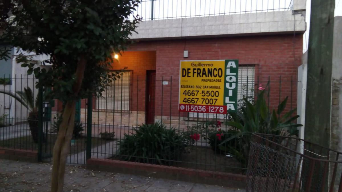 Foto Casa en Alquiler en  Jose Clemente Paz ,  G.B.A. Zona Norte  Sarmiento 3966