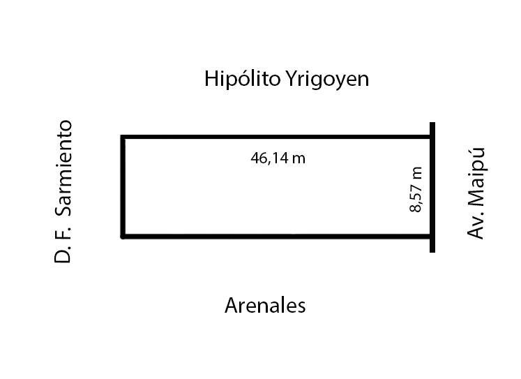 Foto Terreno en Venta en  Barrio Vicente López,  Vicente López  Av Maipu al 1800