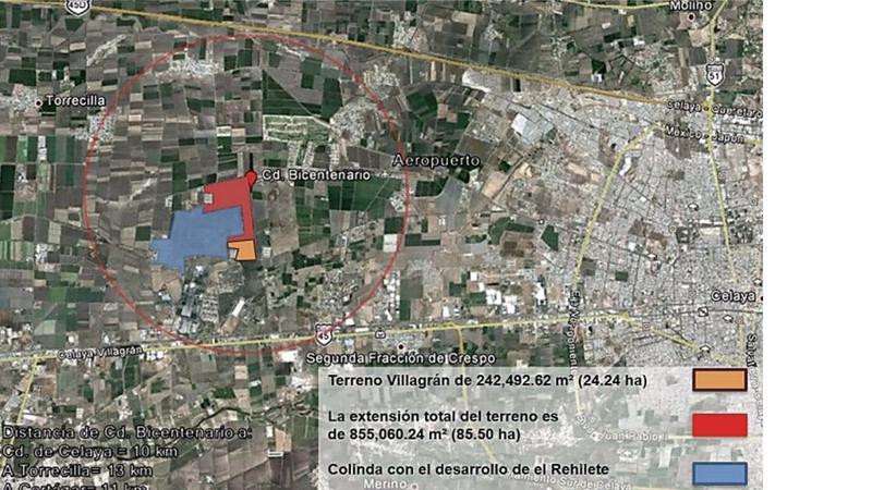 Foto Casa en Venta en  Fraccionamiento Rehilete,  Villagrán  TERRENO PARA CONSTRUCCIÓN DE VIVIENDA CERCA A CELAYA