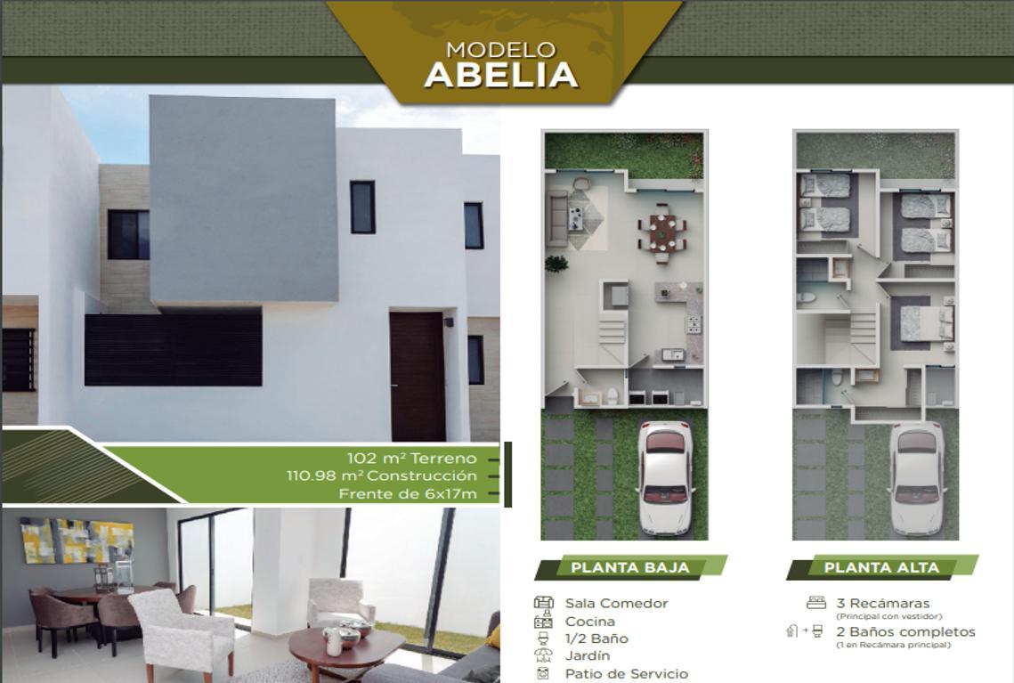 Foto Casa en Venta en  Villa de Pozos,  San Luis Potosí  Casa Abelia, L74
