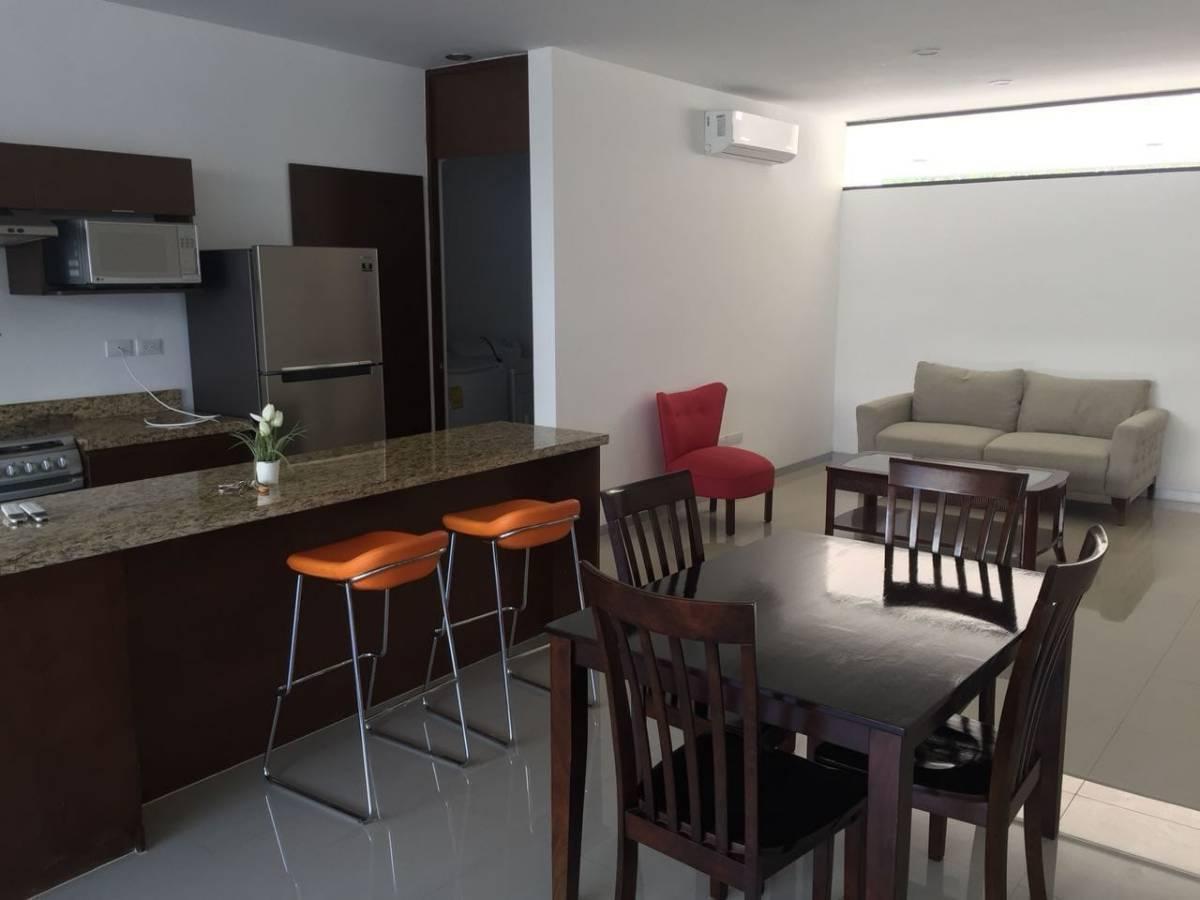 Foto Departamento en Renta en  San Ramon Norte,  Mérida  En Renta Espectacular Loft Amueblado en San Ramón Norte