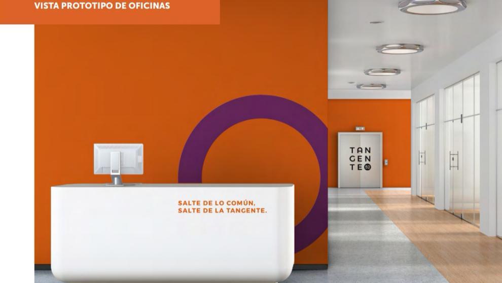 Foto Oficina en Renta en  San Luis Potosí ,  San luis Potosí  CORPORATIVO TANGENTE 52