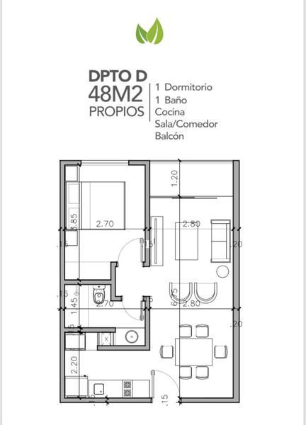 Foto Departamento en Venta en  Villa Morra,  La Recoleta  Edificio Life Villa Morra, Departamento 5D